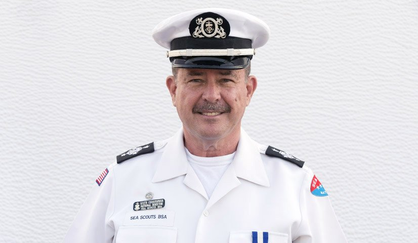 Keith Christopher - National Sea Scout Director